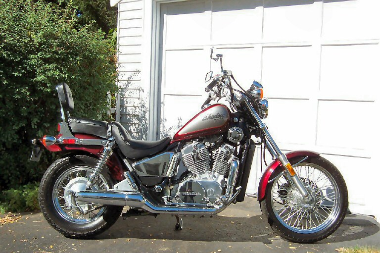 Vt 800 C The Strongest Shadow Honda Shadow Vt Steed